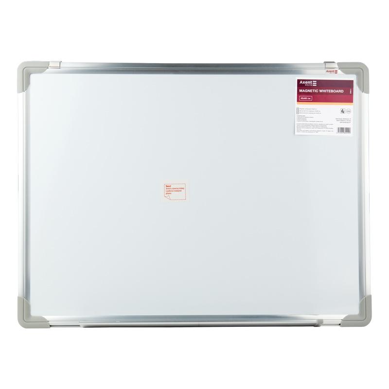 Дошка сухостираєма, магнітна, 45х60 см, алюм. рамка